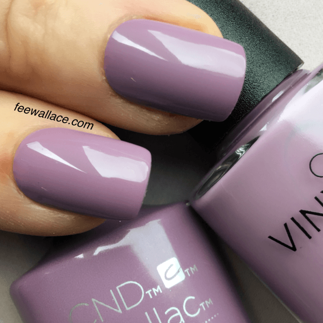 Creamy Dreamy Heather Nails