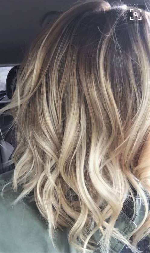 Luxury Straw-Colored Blonde Hair