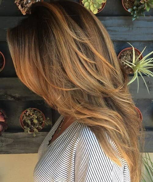 Sun Kissed Layers and Highlights