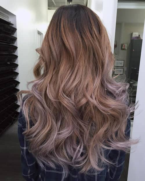 Ethereal Color and Fairytale Layered Long Hair