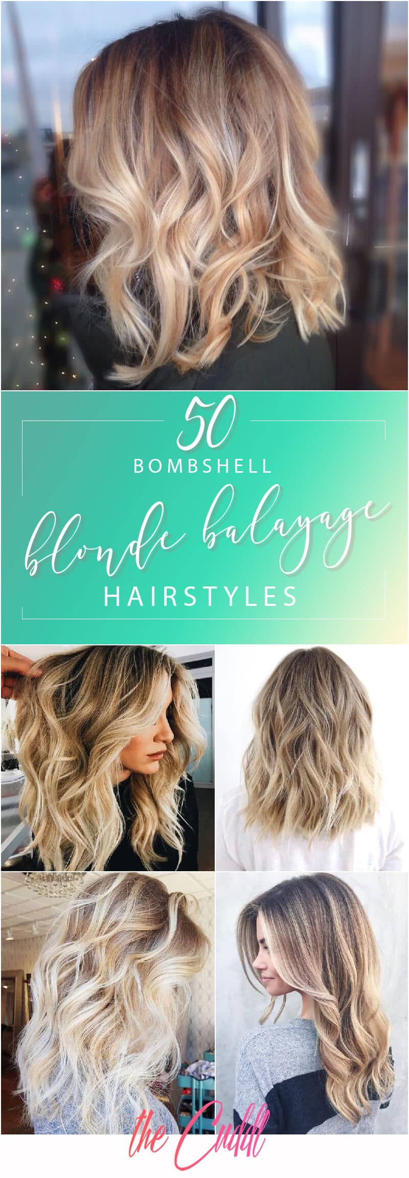 50 Bombshell Blonde Balayage Hairstyles that are Cute Easy Hairstyles for 2018 Hair Ideas