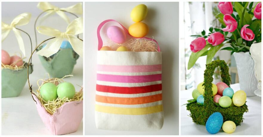 25 Creative DIY Easter Basket Ideas that Can Be Done in One Afternoon