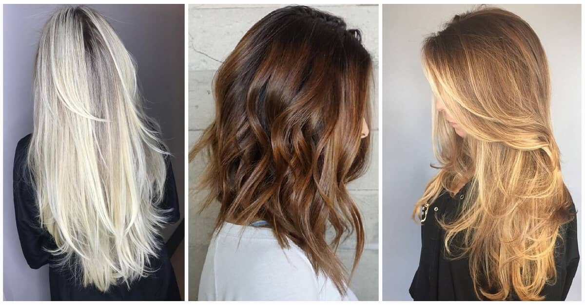 47 Timeless Ways To Wear Layered Hair And Beat Hair Boredom
