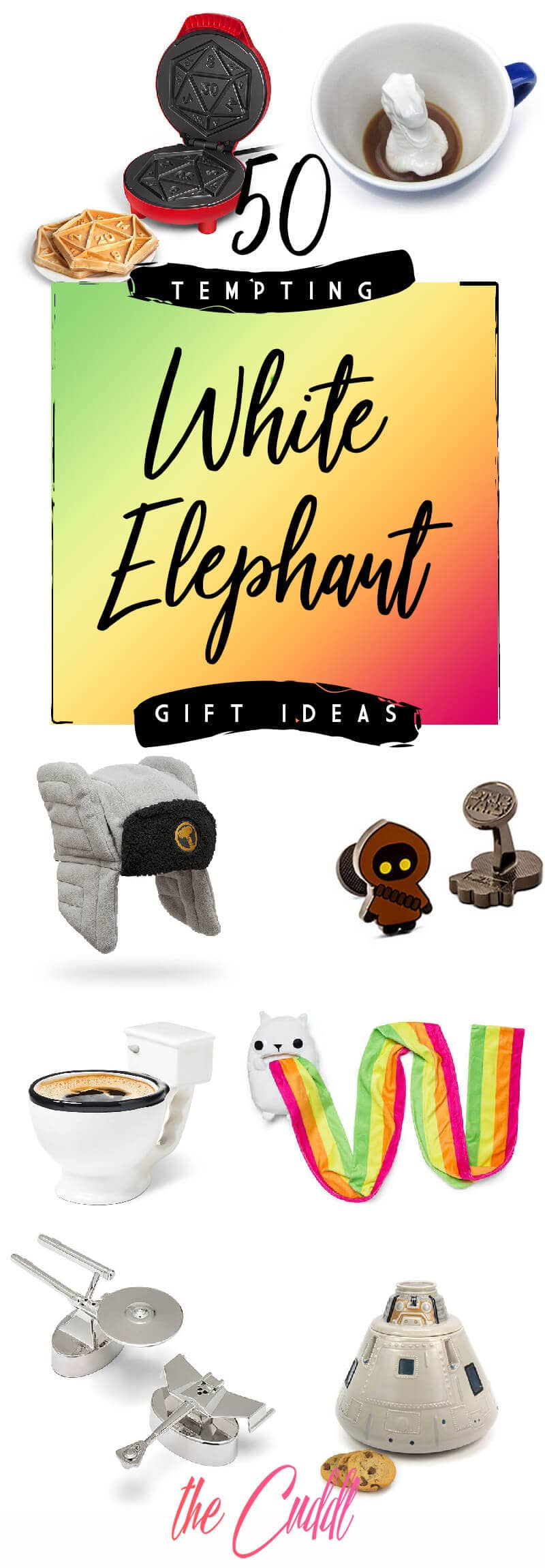 50 Trade Provoking White Elephant Gift Ideas For Your 2020 Gift Exchange
