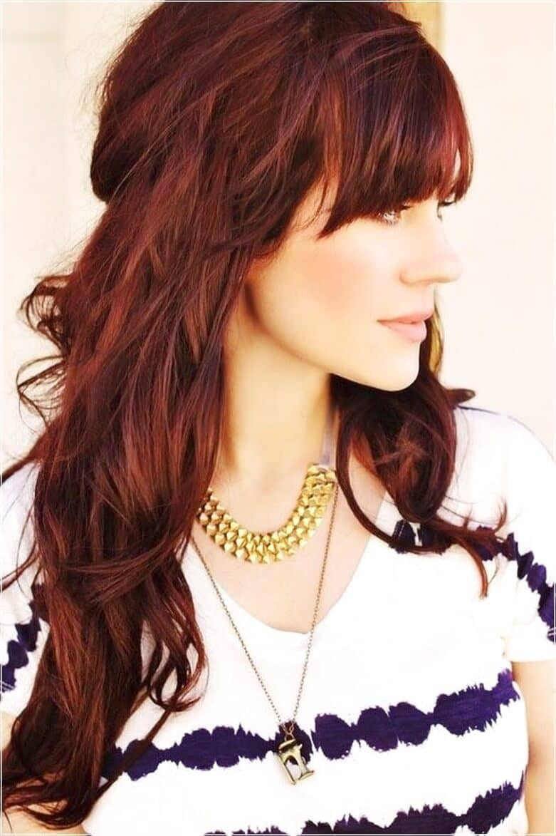 Awesome Long Hairstyles with Bangs