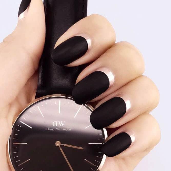 Black Swan Ballerina Nails