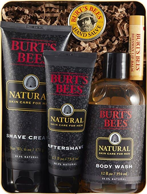 Burt's Bees Men's Set in Giftable Tin