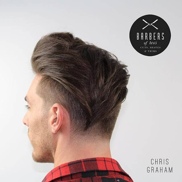 A Cool and Stylish Pompadour Undercut