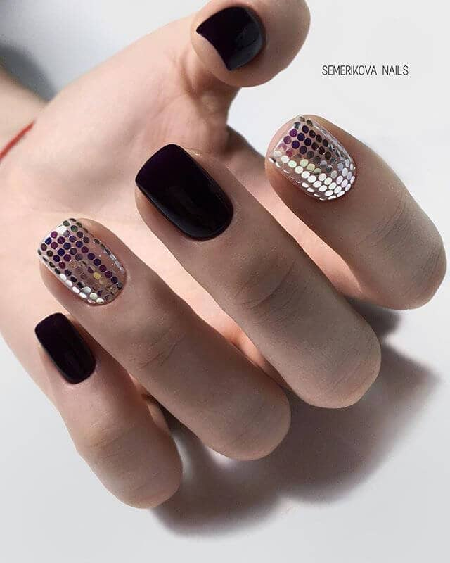 Disco Glam Nail Art For You