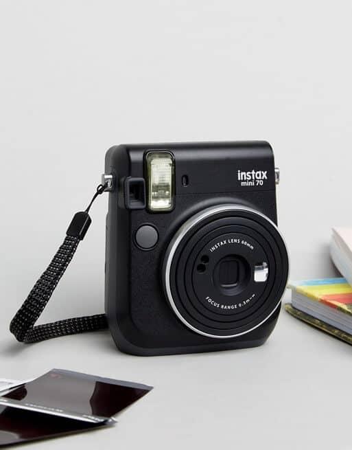 Black Fujifilm Instax Mini 70 Instant Camera
