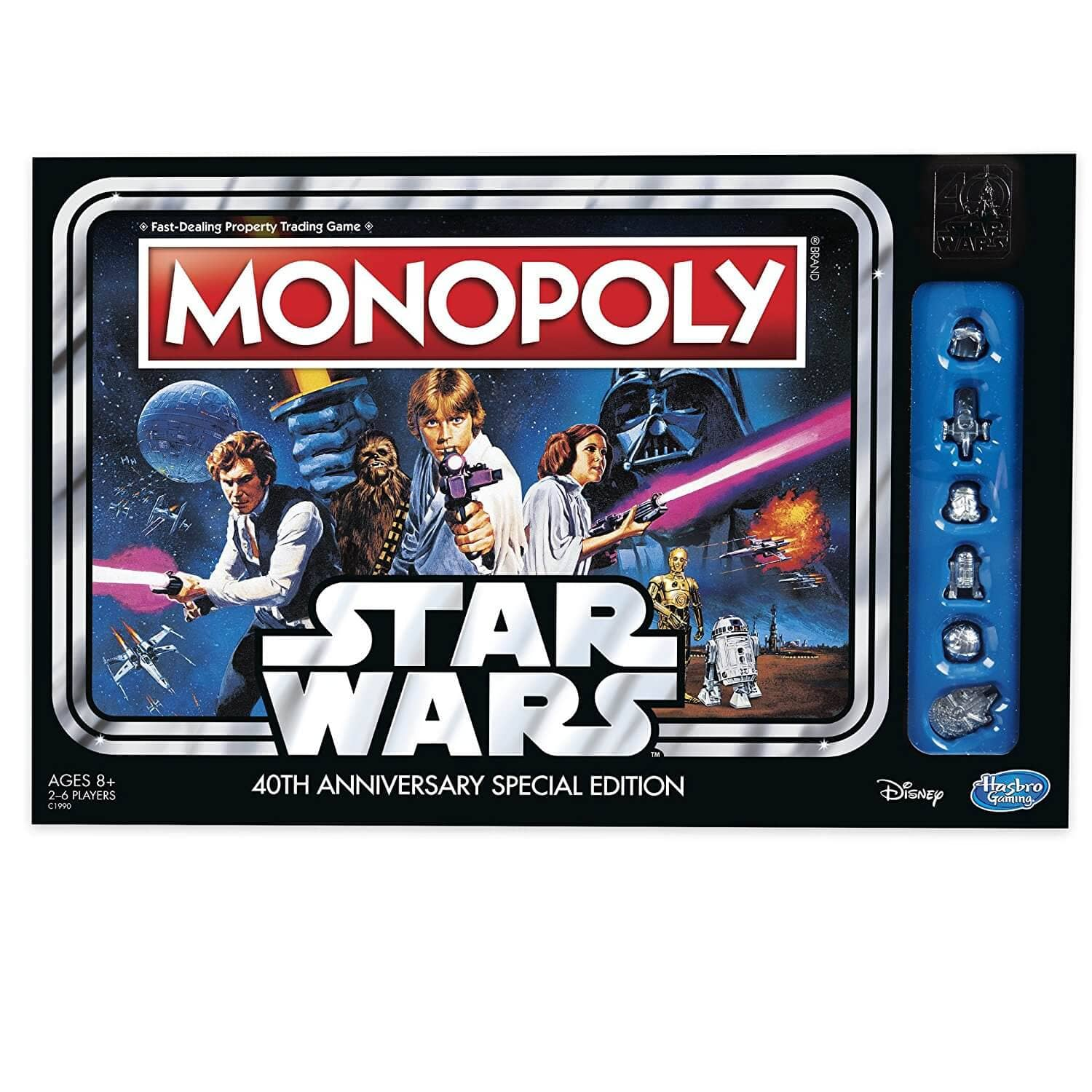 Hasbro Star Wars 40th Anniversary Monopoly Game