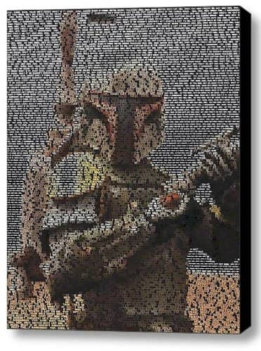 Limited Edition Boba Fett Quotes Mosaic