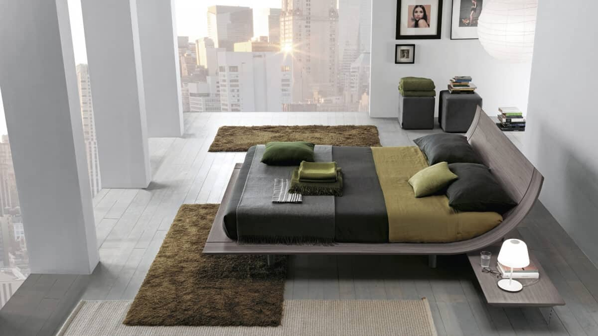 The Ultimate Bed in Slick Contemporary Style