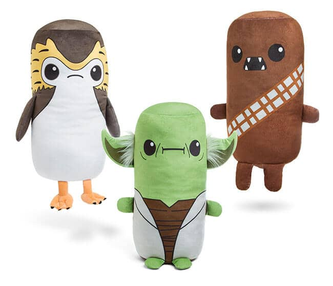 Star Wars Cutesy Roll Plush Toys