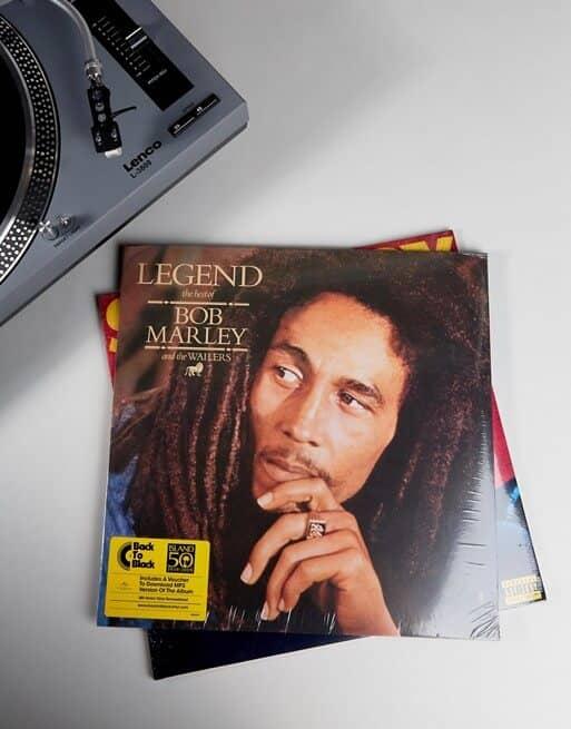 Legendary Bob Marley Vinyl Album Record