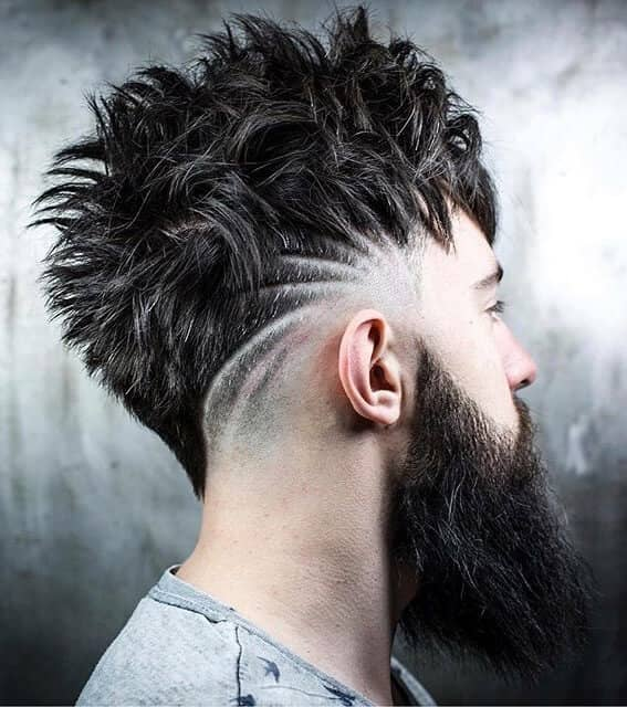 Wild Waves Undercut with Scalp Designs