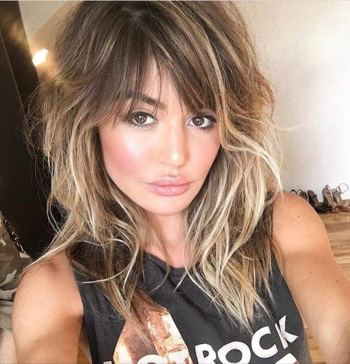 Throwback Hairstyles with Bangs from the 80s