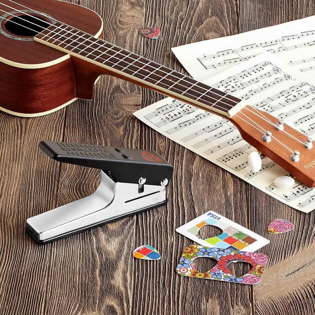 Pick Punch to Create Custom Guitar Picks