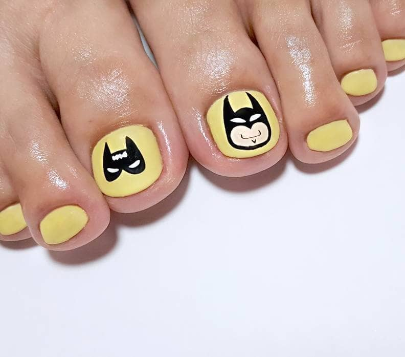 Fun and Quirky Batman Nails