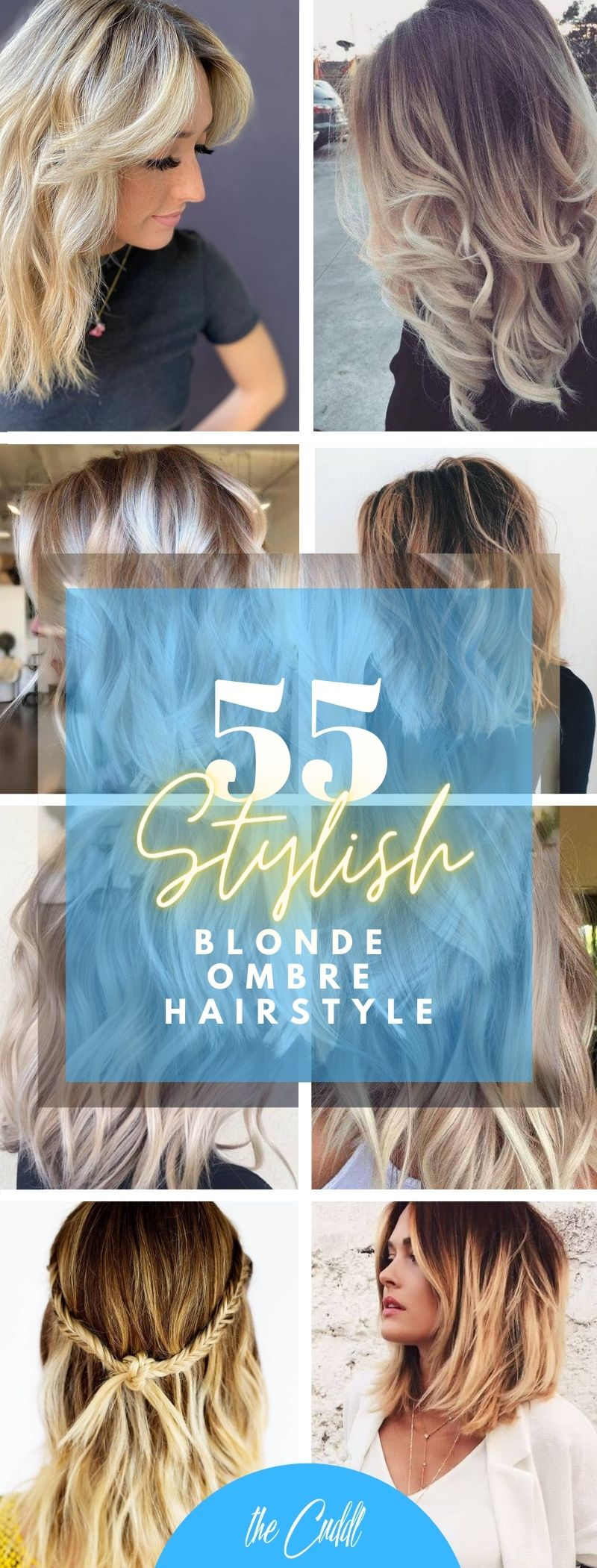 55 Stylish Blonde Ombre Hairstyles that You Must Try