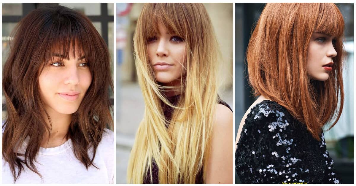 50 Breezy Hairstyles With Bangs To Make You Shine In 2020