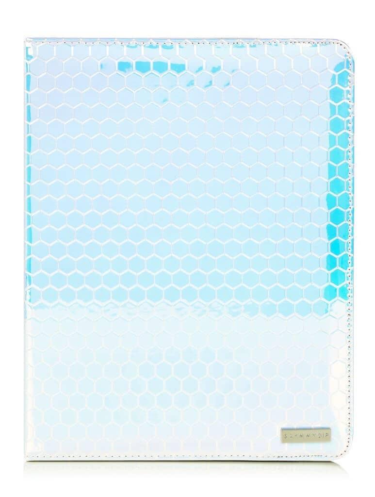 Stylish iPad Case with Honeycomb Pattern
