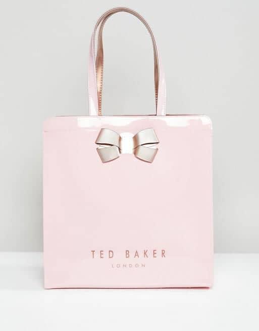 Stylish and Girly Handbag with Pink Bow
