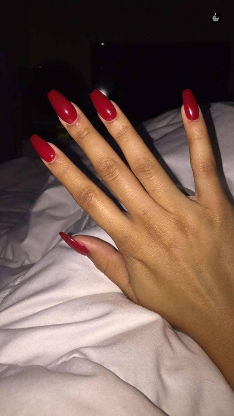 Mid Length Classy Barbie Manicure