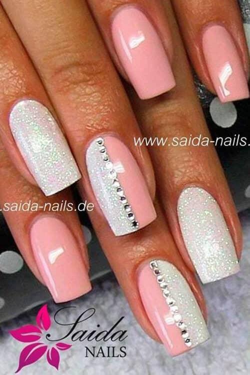 Tailored Pink, Glitter And Rhinestones