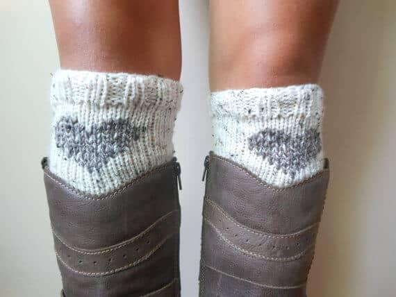 Cutesy Boot Cuffs Handmade for Women