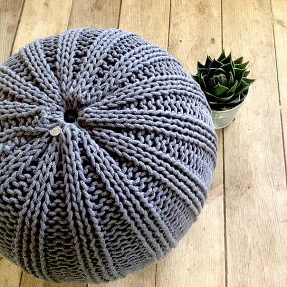 Stylish Pouf Ottoman for the Home