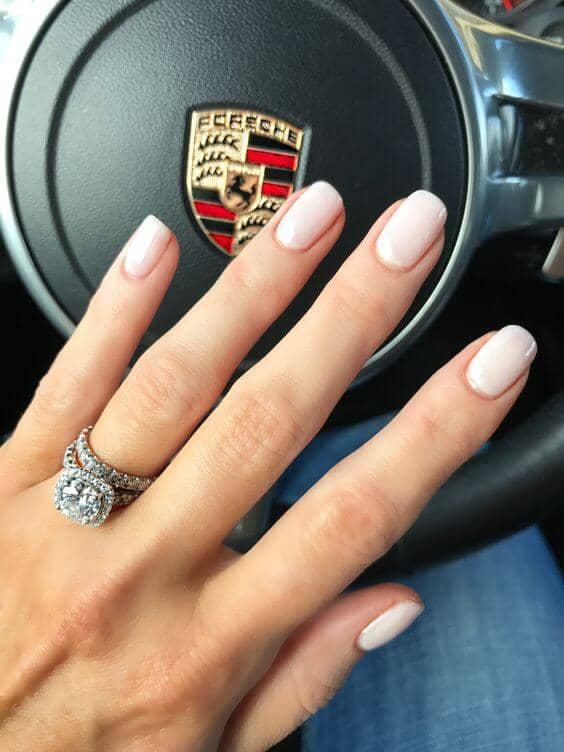 Classic Ombré French Manicure Design