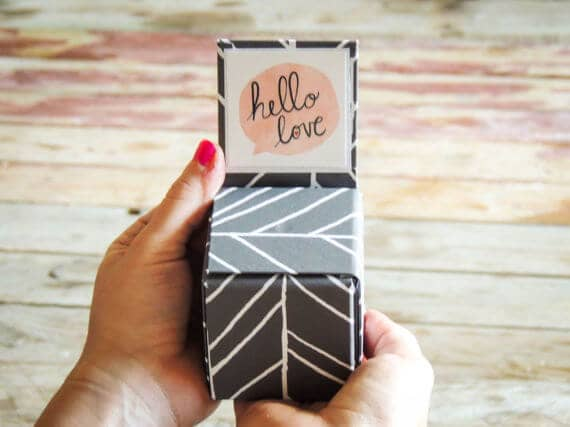 Dating Note Box for Couples