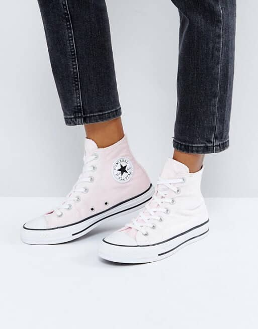 Baby Pink Authentic Chuck Taylors