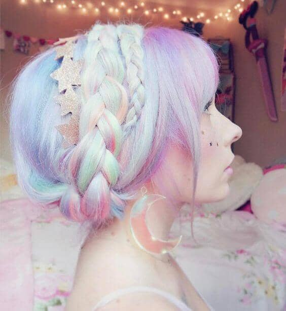 Romantic Pastel Ombre for Mermaids