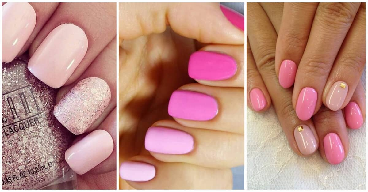 45 Sweet Pink Nail Design Ideas For A Manicure That Suits Exactly What You Need