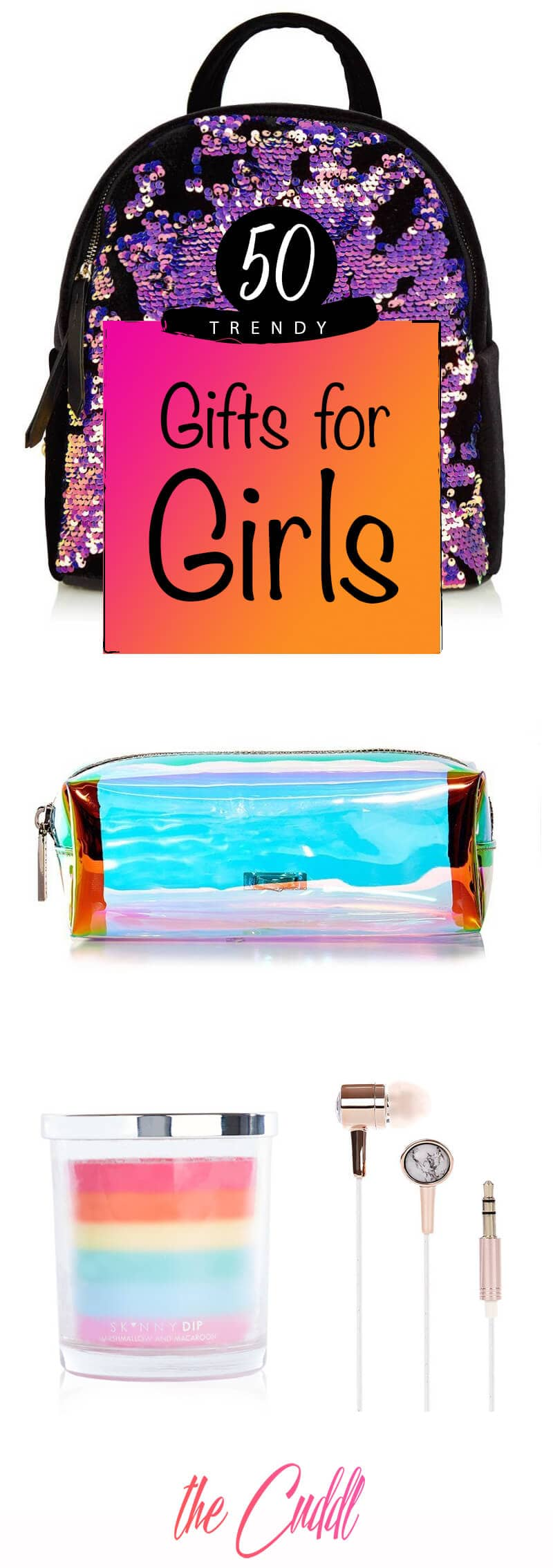 50 Trendy Gifts for Girls to Make Any Lady's Day