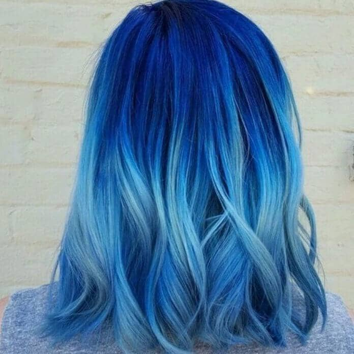 Unique Blue Style Fade Combo