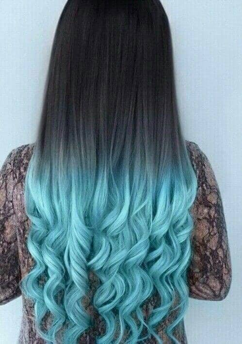 Beautiful Blue Ombre Shades