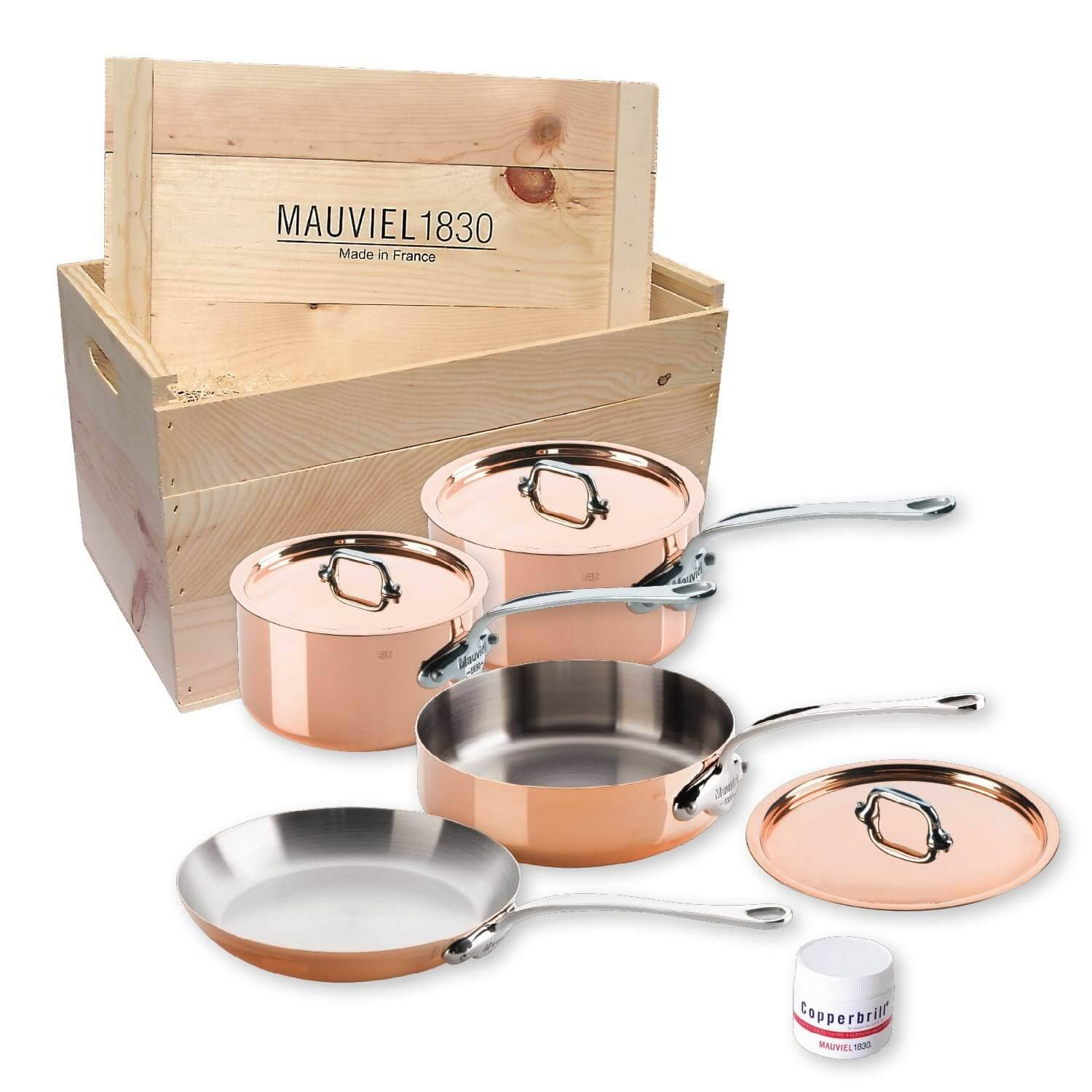 French 7 Piece Cooking Set