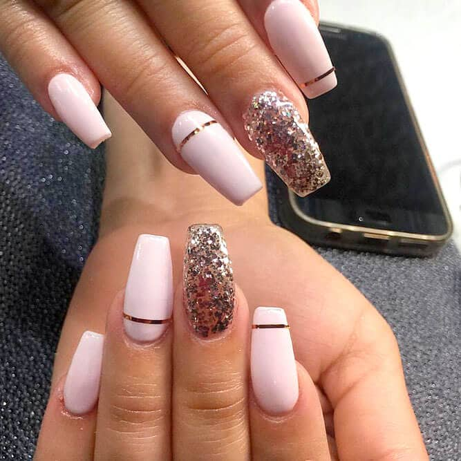 Pretty In Pink Silver Sparkle
