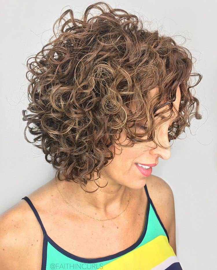 The Chic, Open Curl, Casual Cut