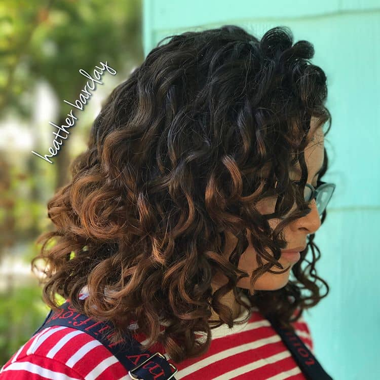 Sweetly Vintage Looking Long Curls