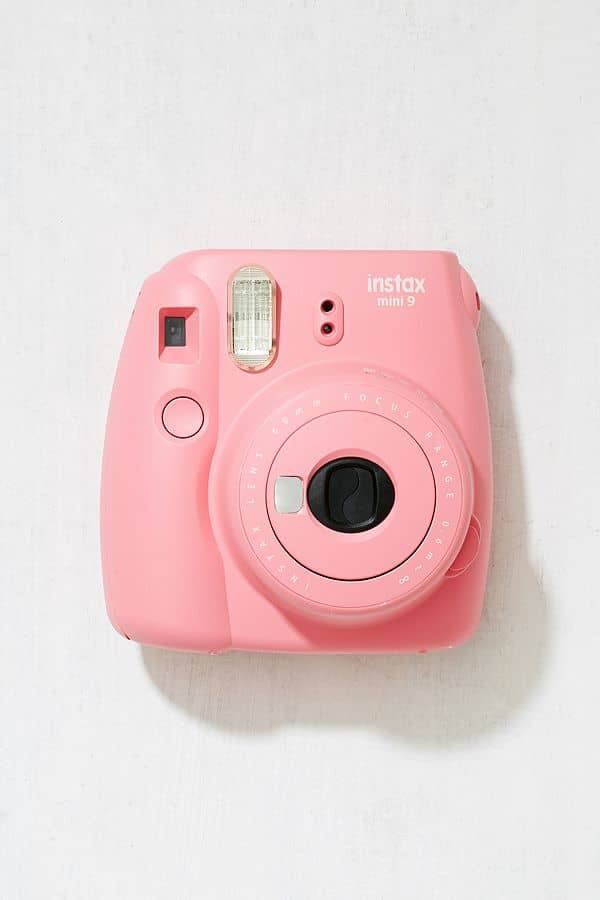 Colorful Instant Mini Camera with Selfie Mirror