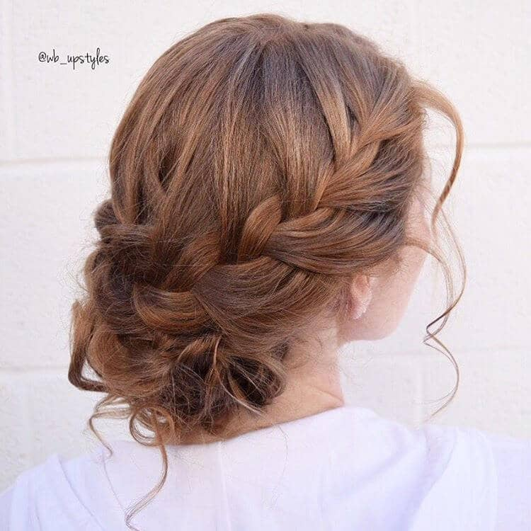 Romantic Braid to the Side