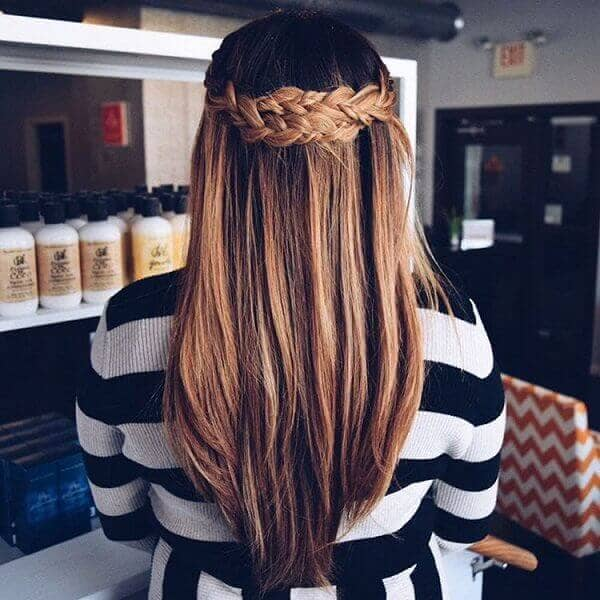 Unique French Braid Style for Any Length