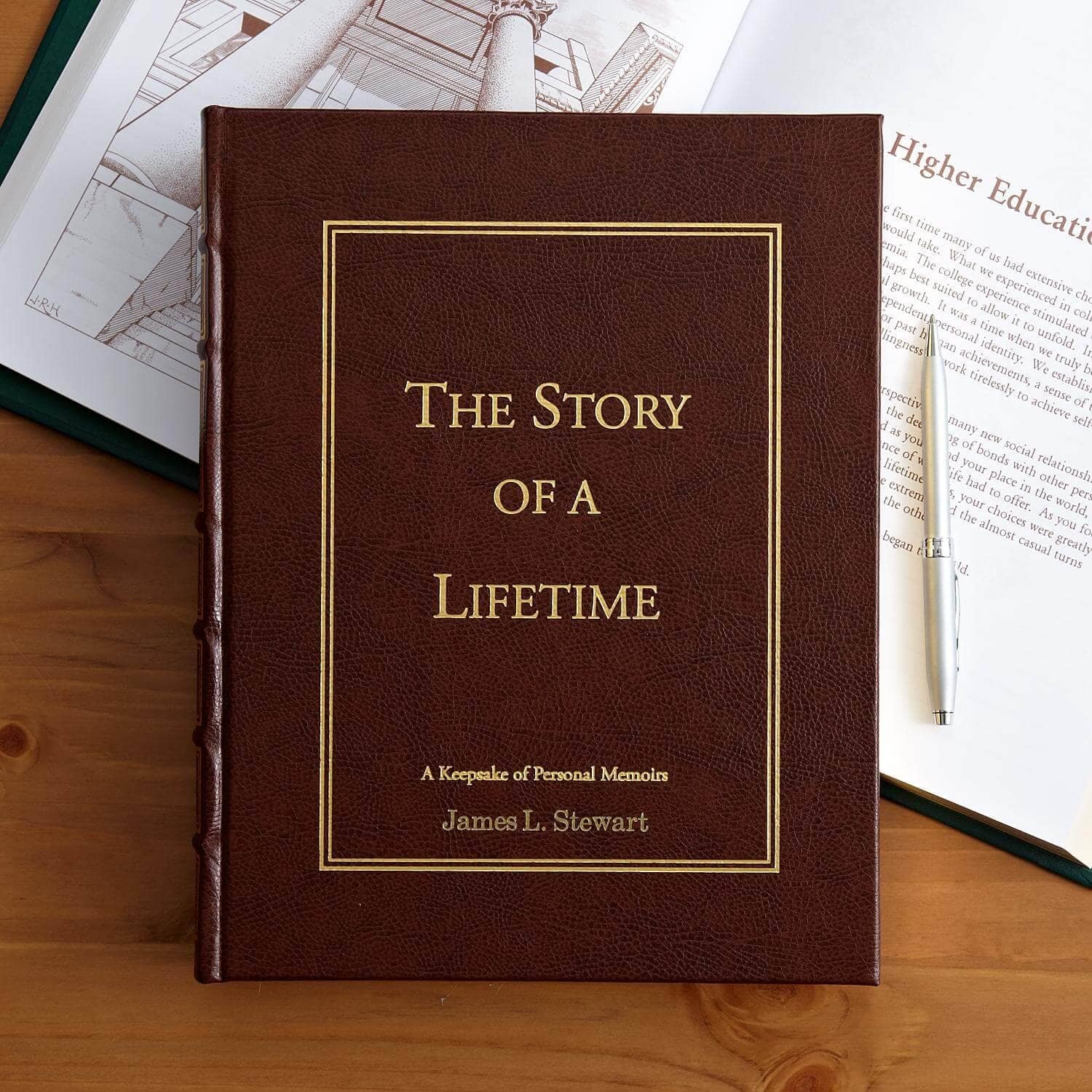 Story of a Lifetime Keepsake Book