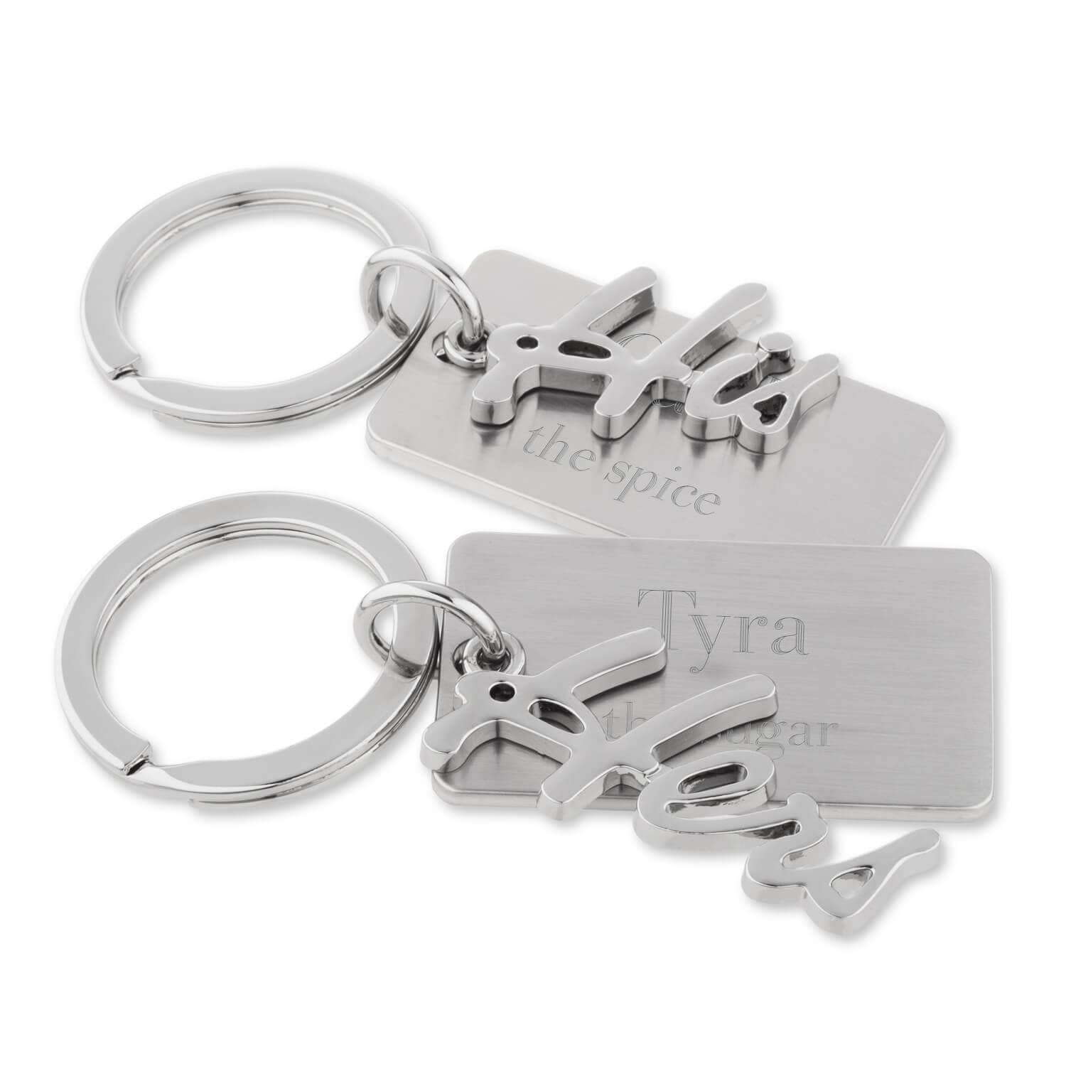 His and Hers Couple Key Chains