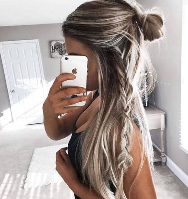 Braided Style on a Casual Day