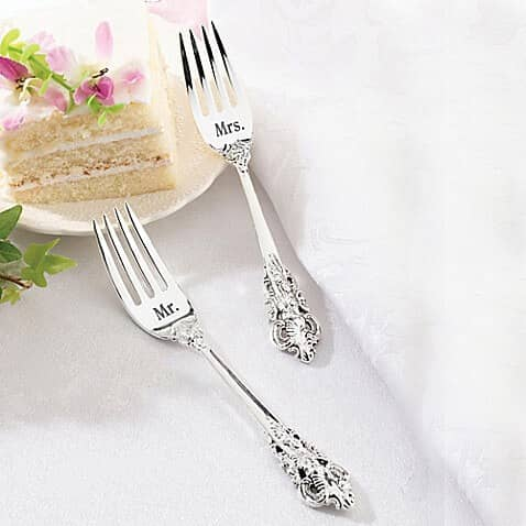 Mr. and Mrs. Fork Set